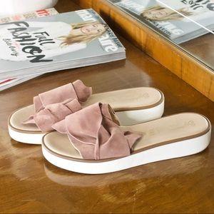 Seychelles Genuine Leather Platform Sandals